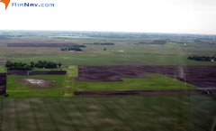 Aerial photo of 6MN2 (Brown's Private Airport)