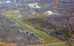 Aerial photo of 07Y (Hill City-Quadna Mountain Airport)