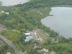 Aerial photo of 8Y4 (Surfside Seaplane Base)