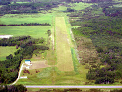 Aerial photo of 13Y (Littlefork Municipal/Hanover Airport)