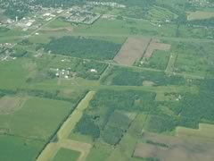 Aerial photo of 18Y (Milaca Municipal Airport)