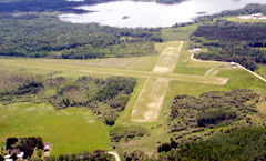 Aerial photo of 43Y (Northome Municipal Airport)