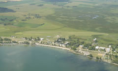 Aerial photo of D32 (Starbuck Municipal Airport)
