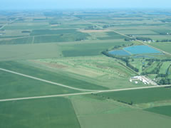 Aerial photo of 63Y (Tyler Municipal Airport)