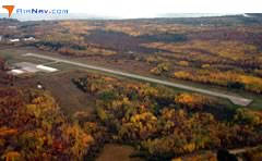 Aerial photo of Y49 (Walker Municipal Airport)