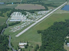 Aerial photo of 2M1 (Harry S Truman Regional Airport)