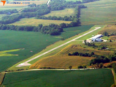 Aerial photo of 0C1 (Triple R Airport)