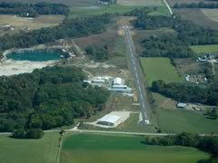Aerial photo of M71 (Greensfield Airport)