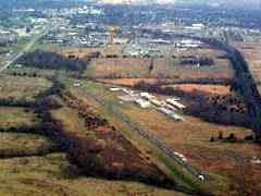 Aerial photo of 3VS (Roy Otten Memorial Airfield)