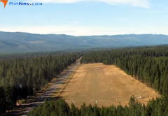 Aerial photo of S04 (Condon USFS Airport)