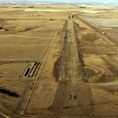 Aerial photo of 5U6 (Fairview Airport)