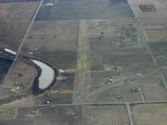 Aerial photo of MT95 (Flathead Lake Sky Ranch Airport)