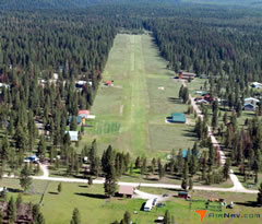 Aerial photo of 23S (Seeley Lake Airport)