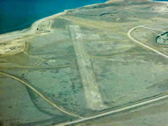 Aerial photo of B70 (Tiber Dam Airport)