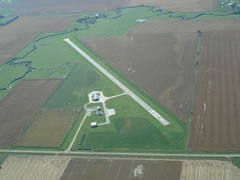 Aerial photo of 84Y (Bloomfield Municipal Airport)