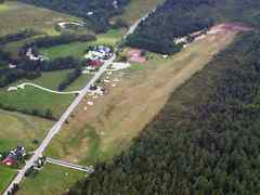 Aerial photo of 1B5 (Franconia Airport)