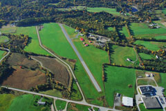 Aerial photo of 5B9 (Dean Memorial Airport)