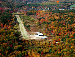 Aerial photo of NH76 (Mason Airfield)
