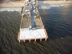 Aerial photo of 28NJ (Steel Pier Taj Mahal Heliport)