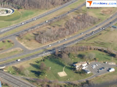Aerial photo of NJ73 (State Police Holmdel Helispot)