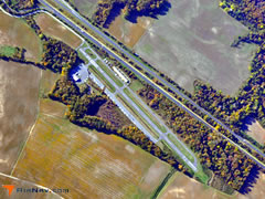 Aerial photo of 7N7 (Spitfire Aerodrome)