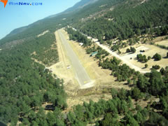 Aerial photo of 52NM (Timberon Airport)