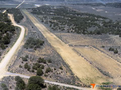 Aerial photo of E32 (Lindrith Airpark)