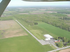 Aerial photo of 9G6 (Pine Hill Airport)