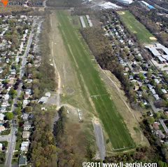 Aerial photo of 23N (Bayport Aerodrome)