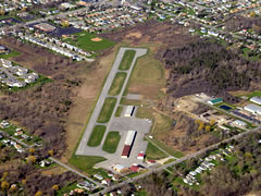 Aerial photo of 9G0 (Buffalo Airfield)