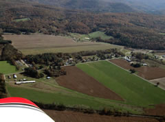 Aerial photo of 1B8 (Chapin Field Airport)
