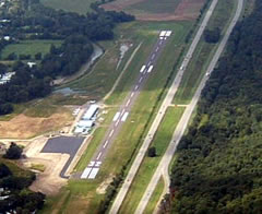 Aerial photo of 7N1 (Corning-Painted Post Airport)