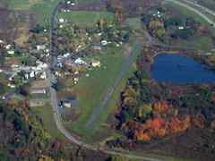 Aerial photo of 4B1 (Duanesburg Airport)