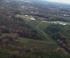 Aerial photo of 9G5 (Royalton Airport)