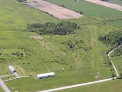 Aerial photo of 92G (Midlakes Airport)