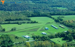 Aerial photo of NK71 (Marcellus Airport)