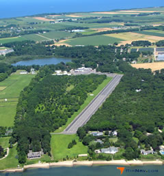Aerial photo of 21N (Mattituck Airport)