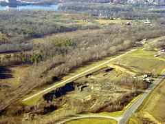 Aerial photo of K27 (Burrello-Mechanicville Airport)