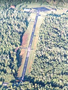 Aerial photo of NY17 (Adirondack Airpark Estates Airport)