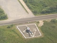 Aerial photo of 87N (Southampton Heliport)
