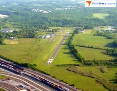 Aerial photo of 4B0 (South Albany Airport)