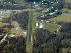 Aerial photo of 5B7 (Rensselaer County Airport)