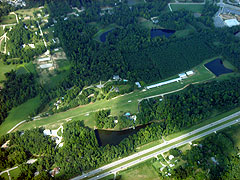 Aerial photo of NC81 (Cox Airport)
