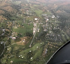 Aerial photo of NC14 (Boone Inc Airport)