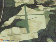 Aerial photo of NC45 (Enfield-Shearin Airport)