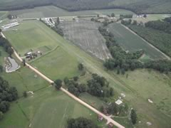 Aerial photo of N08 (Flanagan Field Airport)