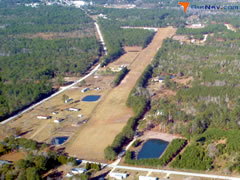 Aerial photo of N21 (Holly Ridge/Topsail Island Airport)