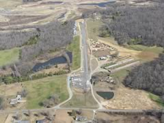 Aerial photo of 28A (Goose Creek Airport)