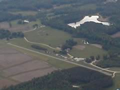 Aerial photo of 79NC (Ball Airport)