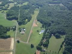 Aerial photo of 4NC0 (Boyd's Hawks Creek Airport)